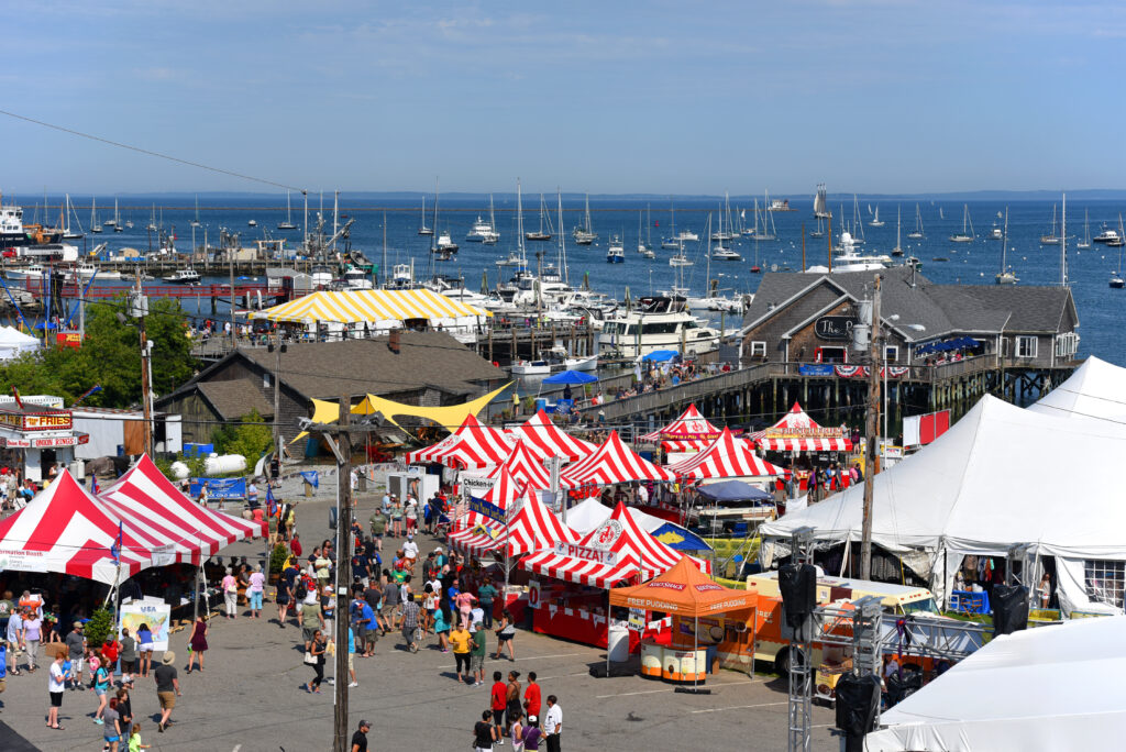 Maine Lobster Festival in Rockland, Maine.