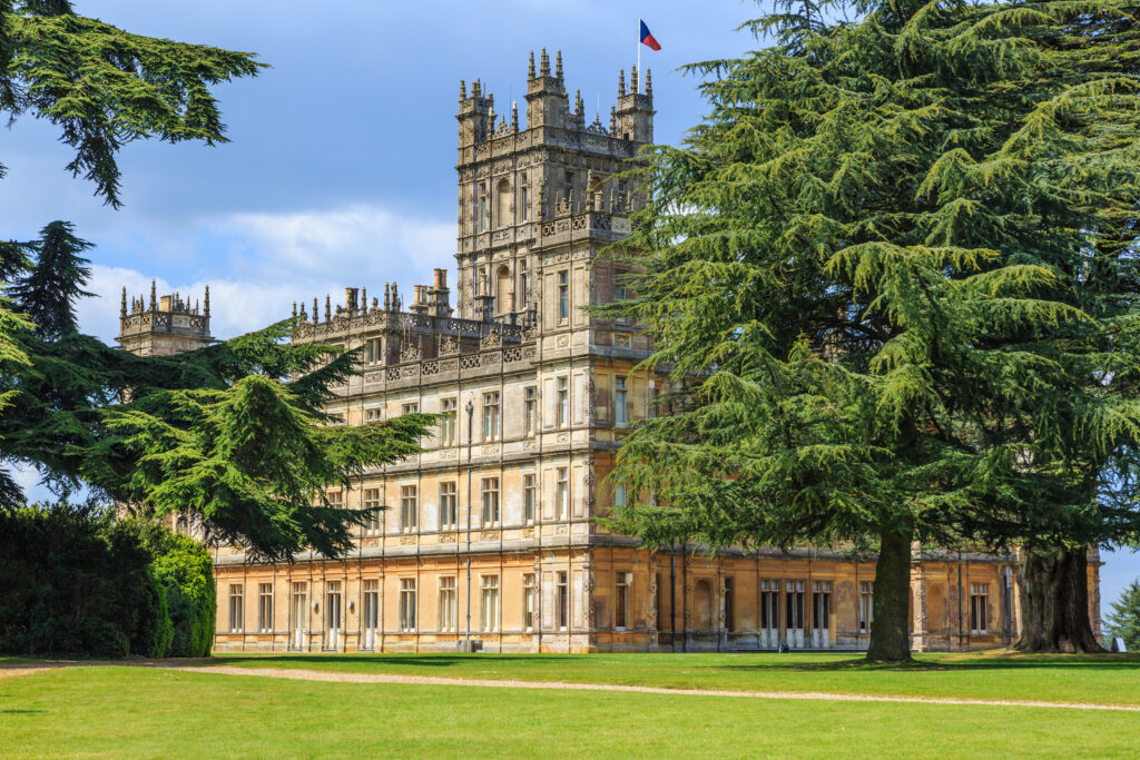 Highclere Castle, Setting of Downton Abbey.