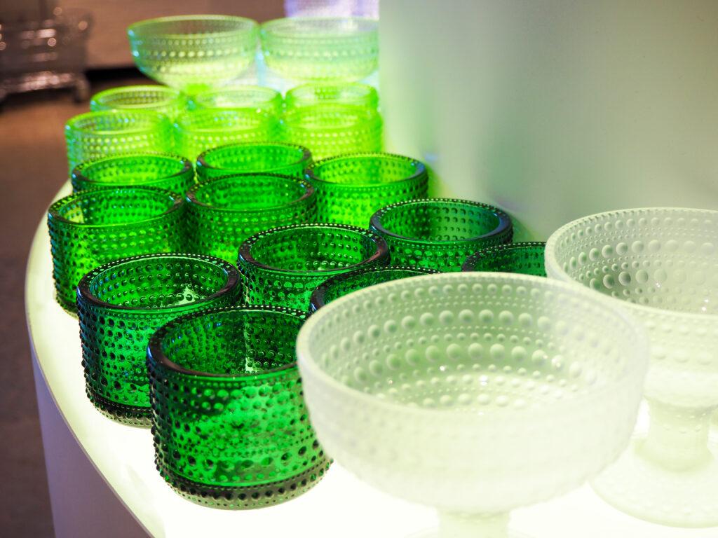 iittala glassware.
