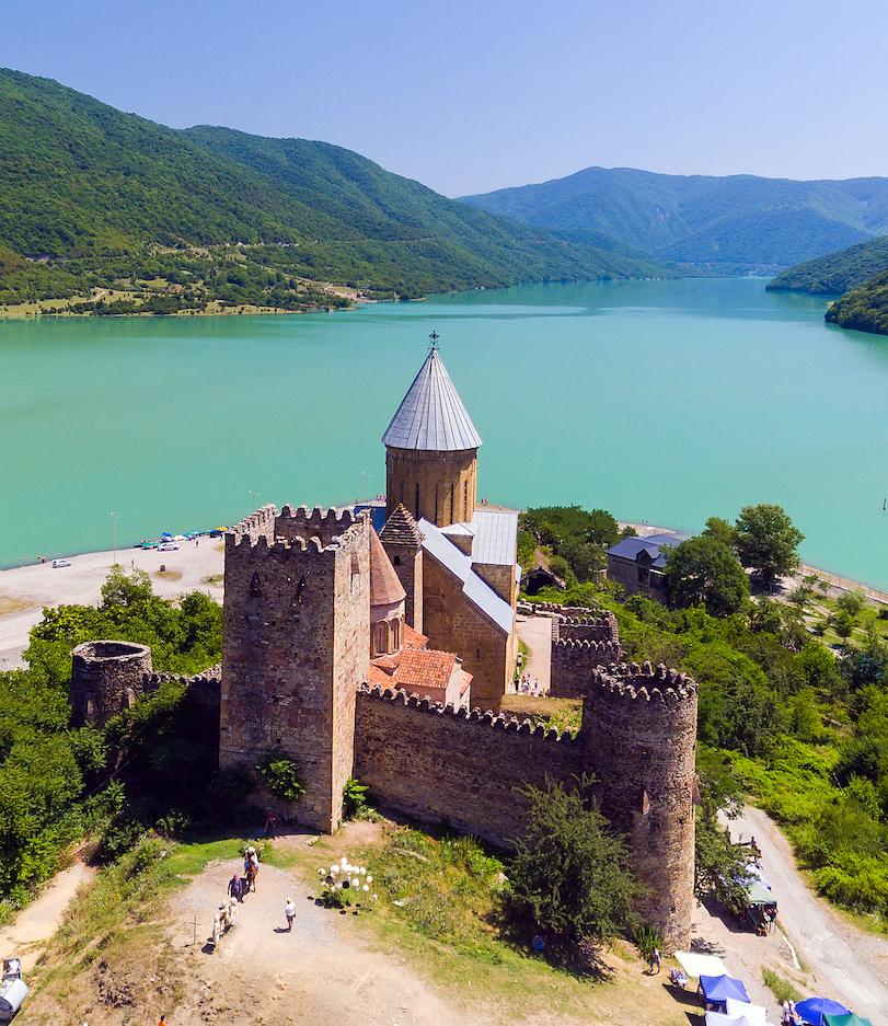 Castle in Georgia.