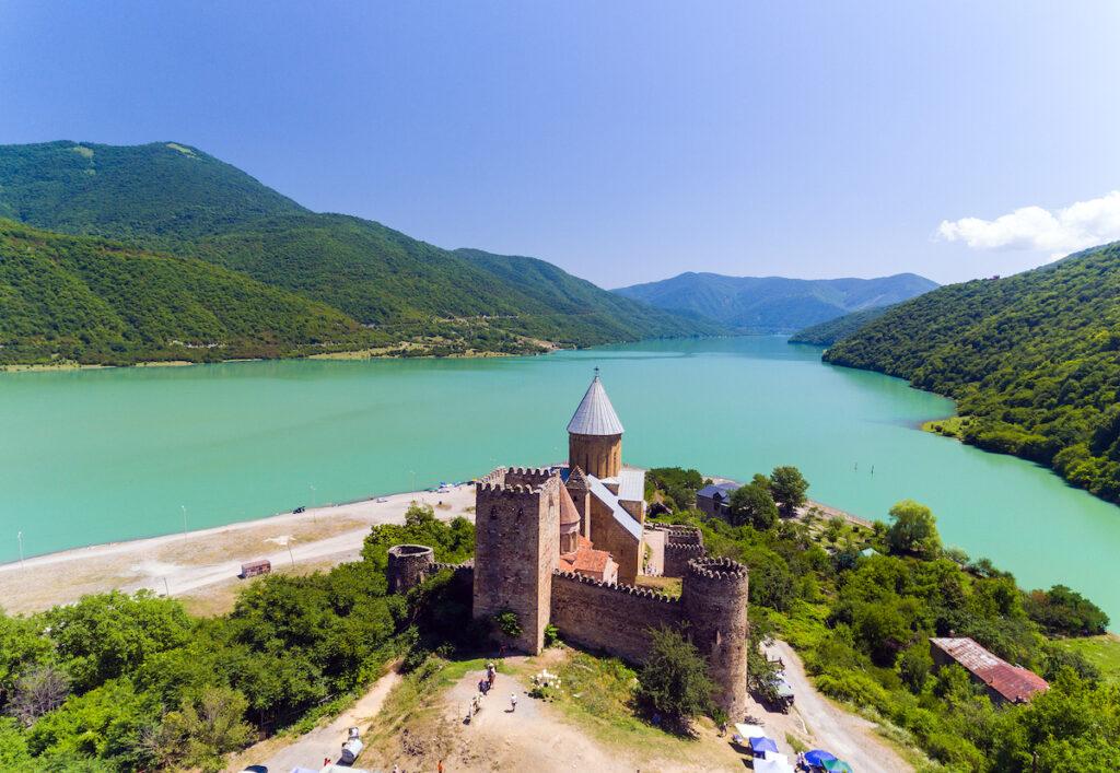 Ananuri Castle in Georgia.