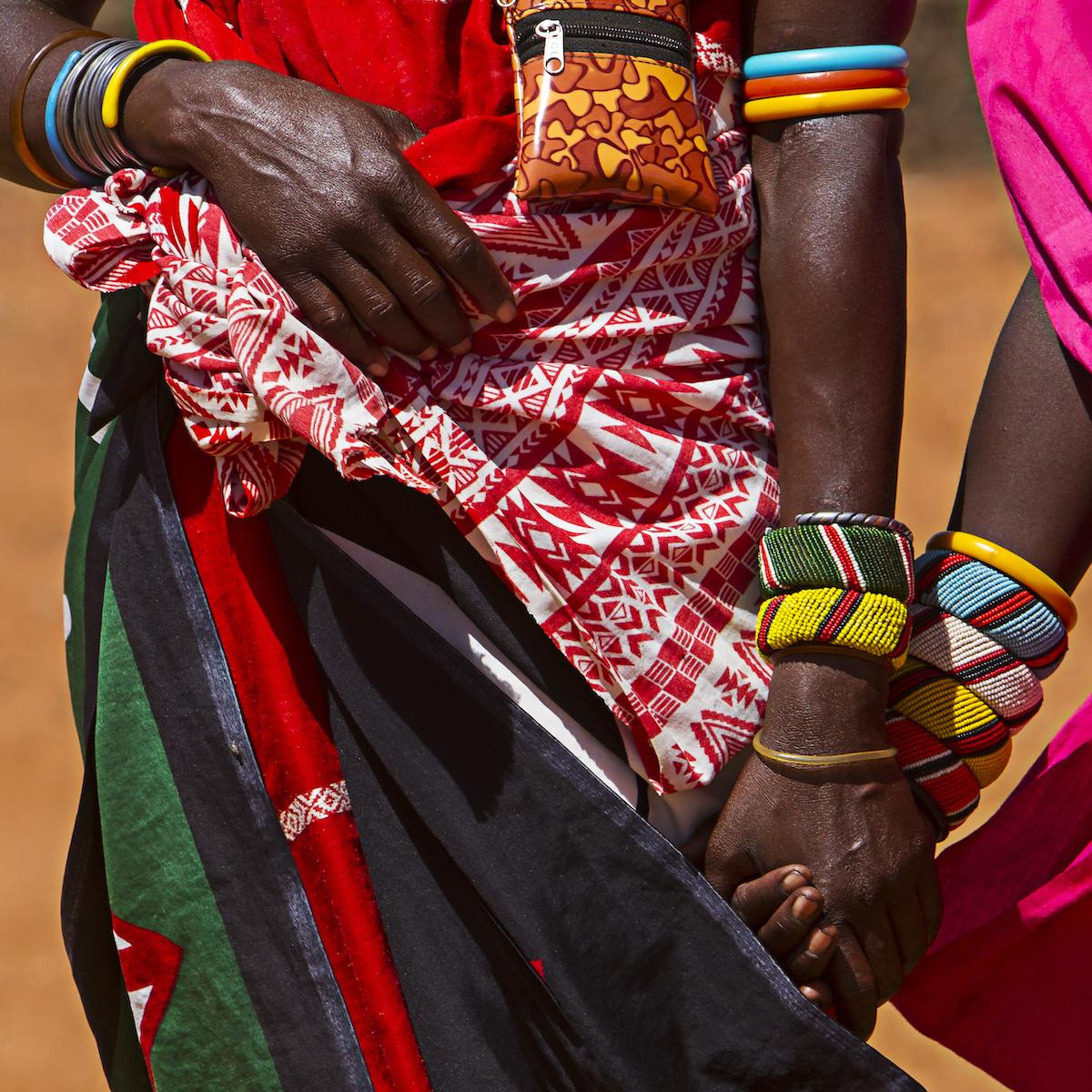 Samburu women in Africa.