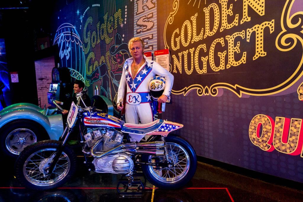 The Evel Knievel Museum.