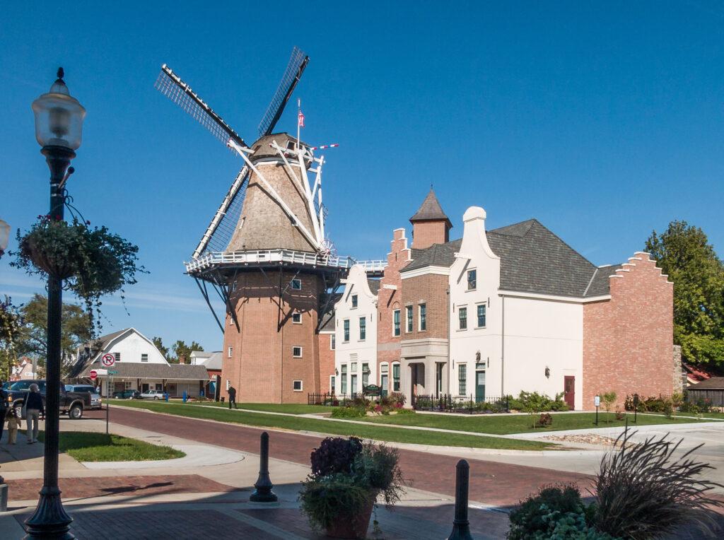 Windmill at Pella, Iowa