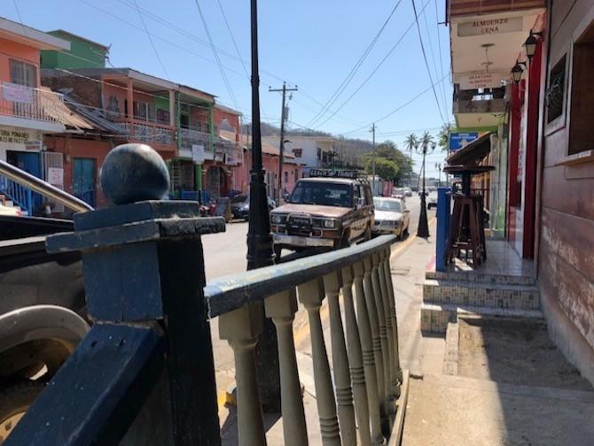Street in Nicaragua.