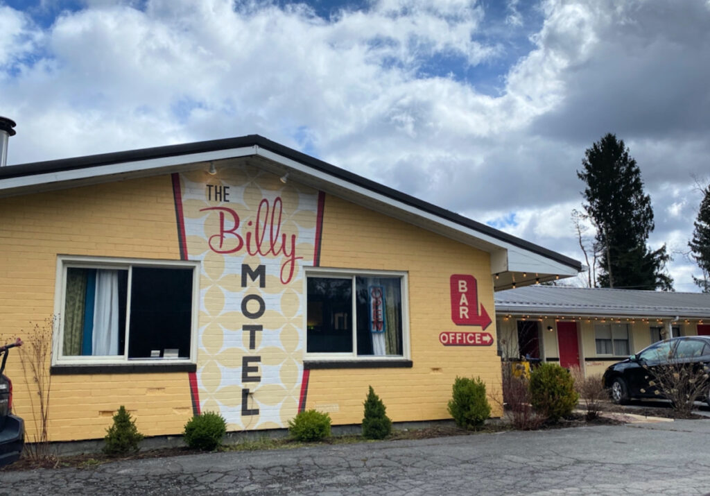 The Billy Motel in West Virginia.