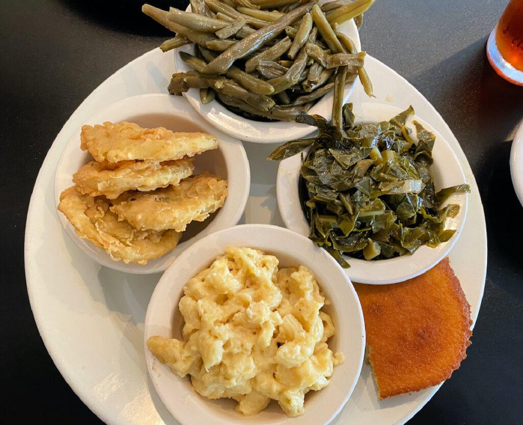 Food in Titusville, Florida.