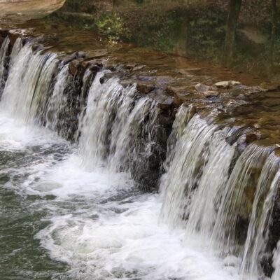 Hurricane Creek Park in Falkville, AL.