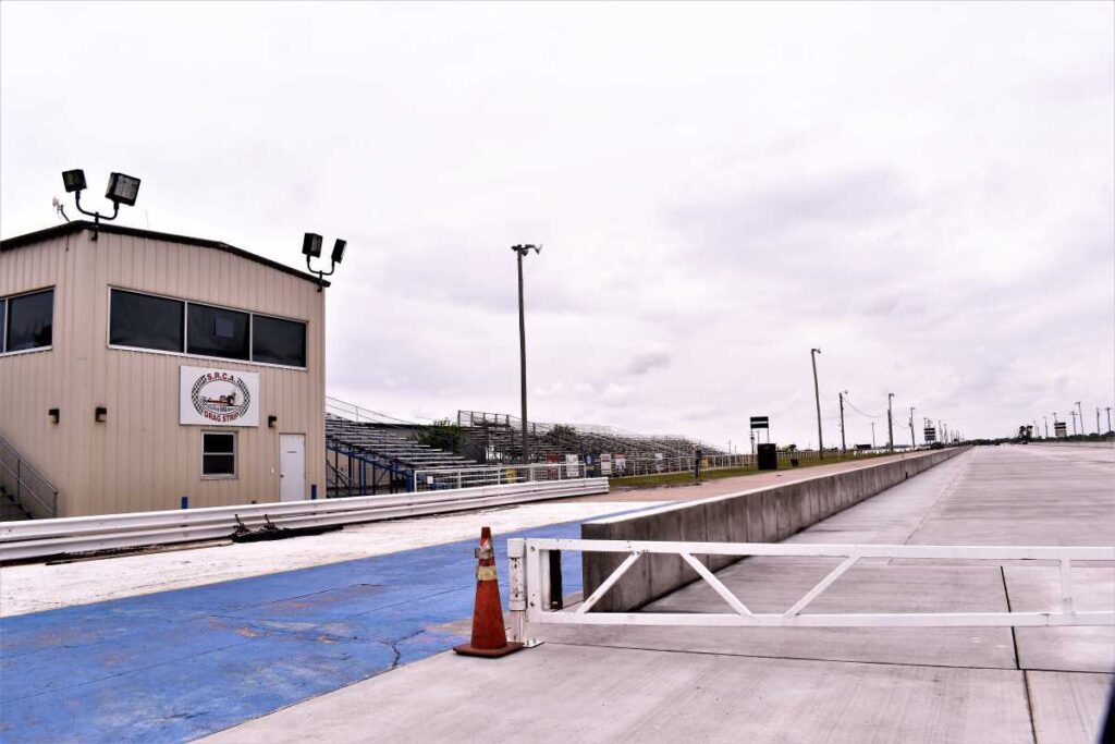 The SRCA Dragstrip in Great Bend, Kansas.