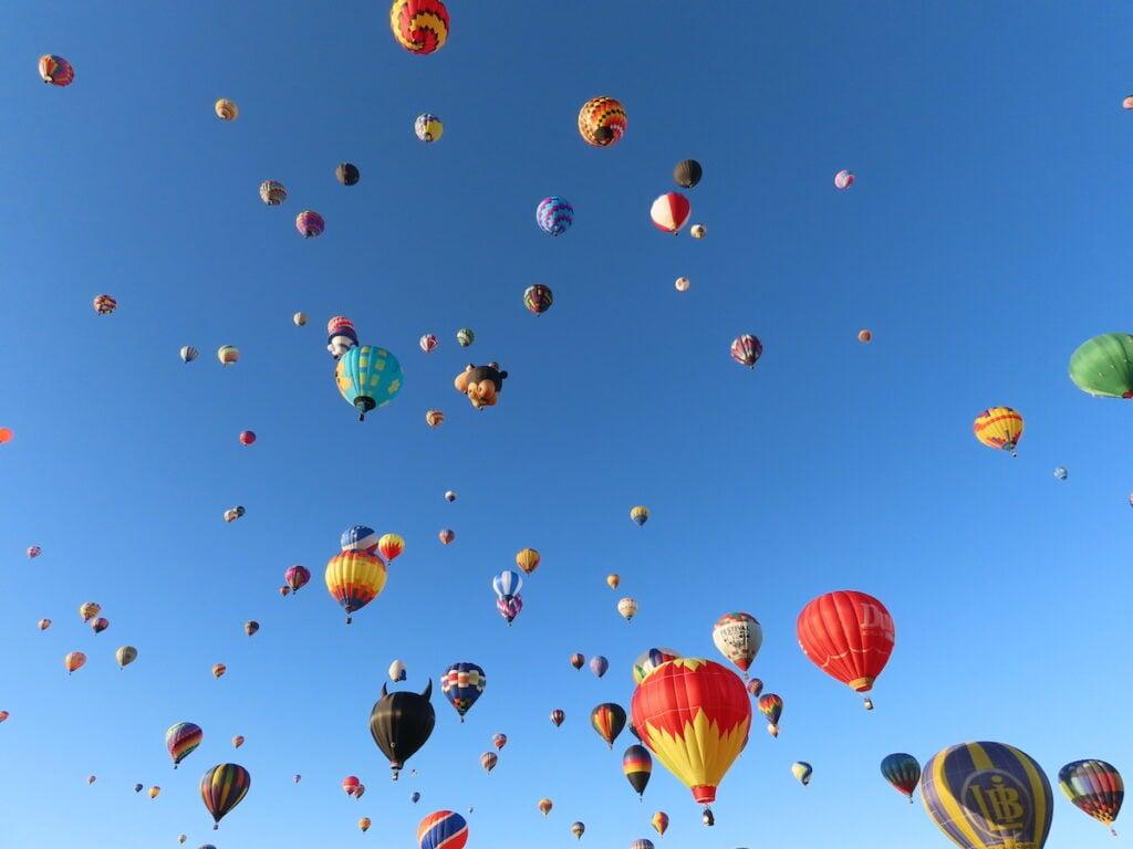 International balloon festival.