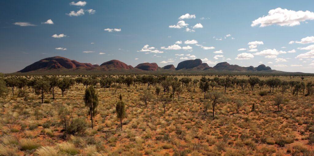 Kata Tjuta, Uluru Kata Tjuta National Park, NT, Australia.