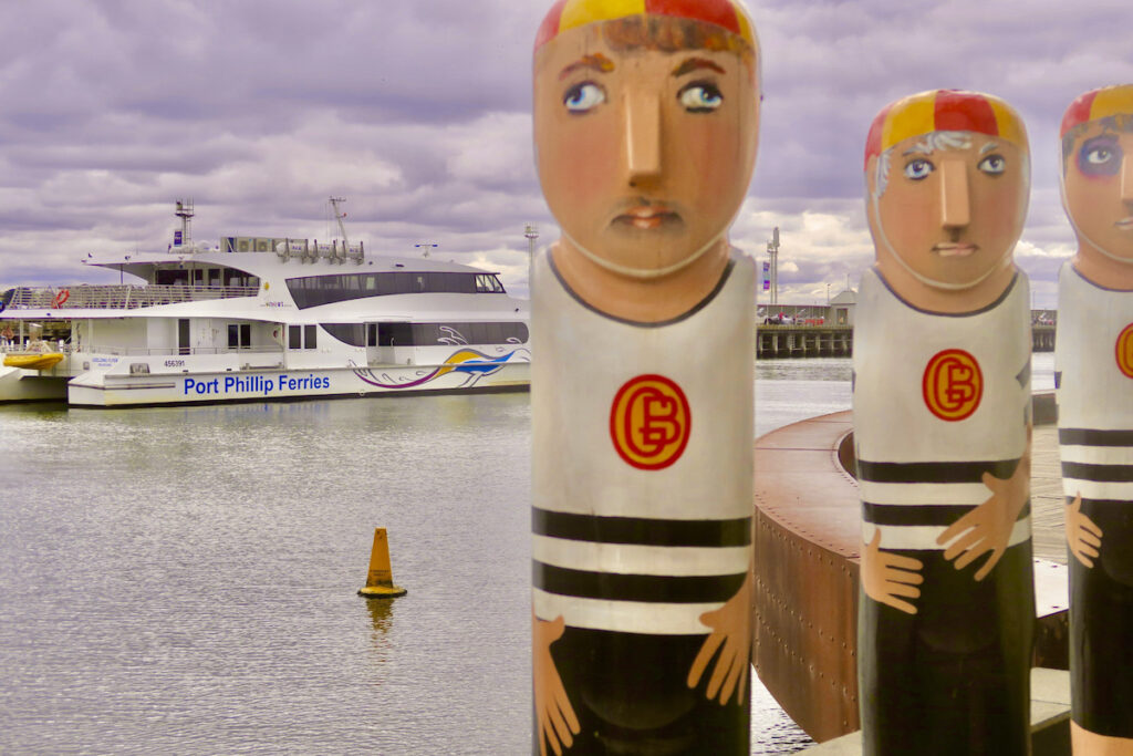 Port Phillip Ferry, Geelong waterfront, Geelong, Victoria, Australia.