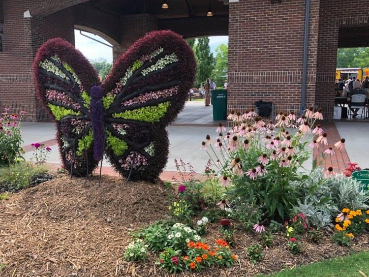 Festival of Flowers in Greenwood.