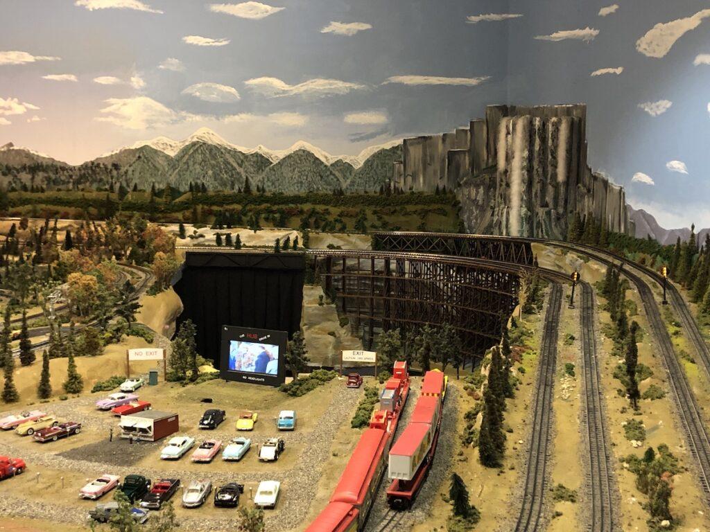Diorama, Foley Depot Museum & Model Train Exhibit.