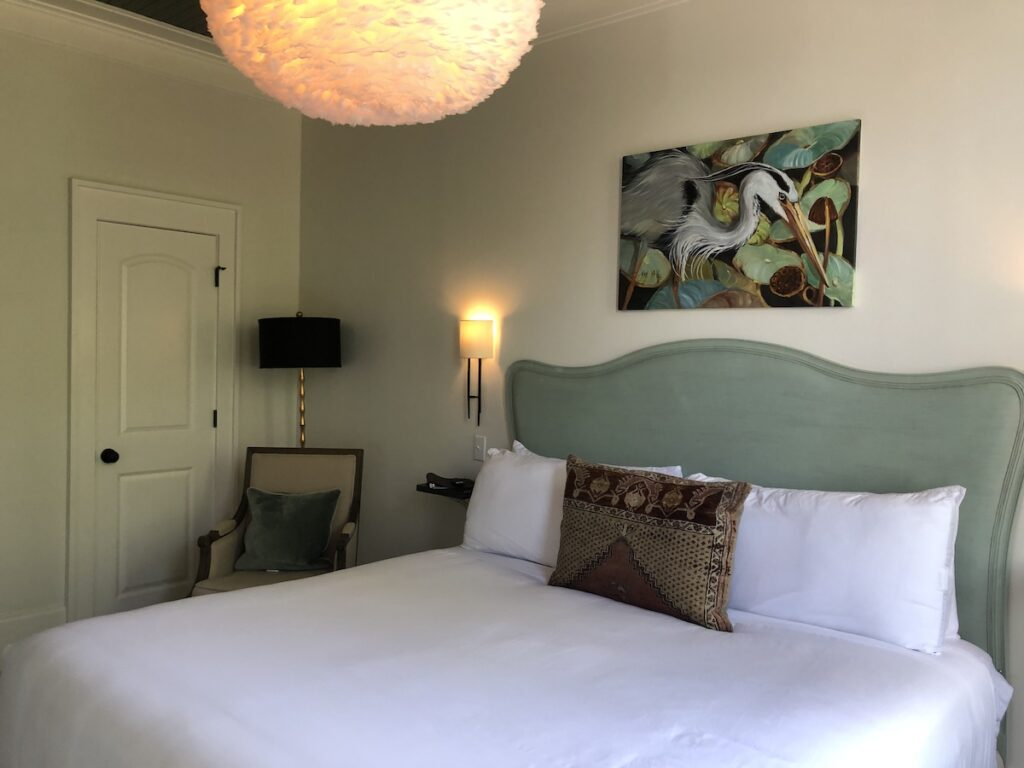 Room at the Hemingway Boutique Hotel.