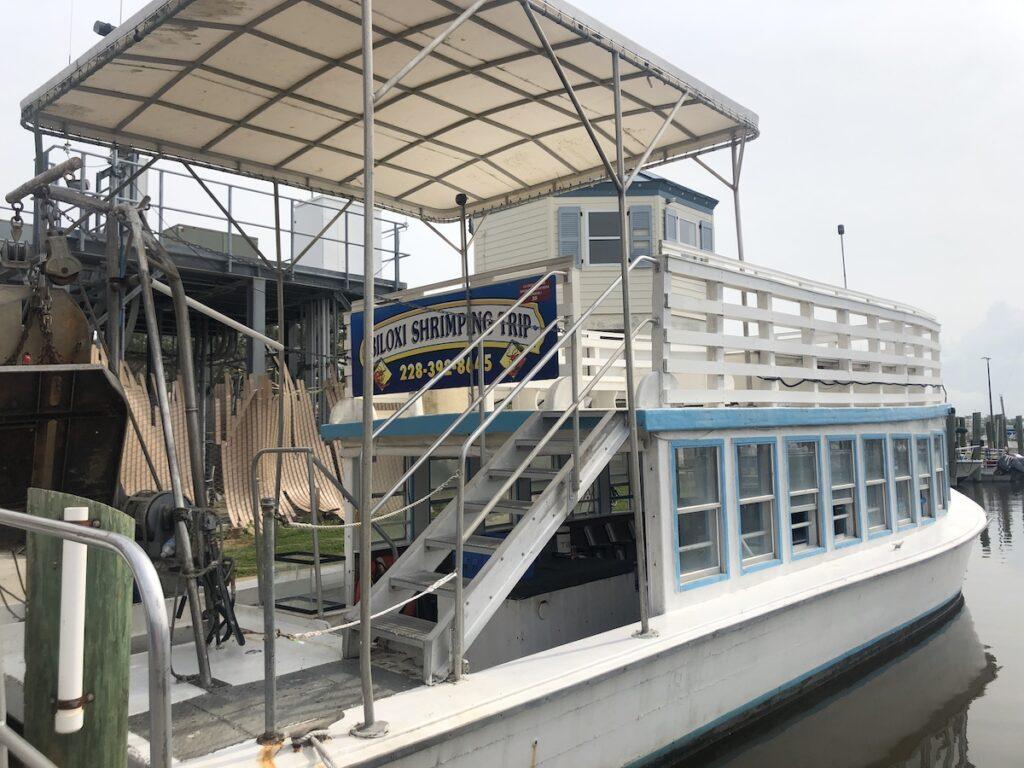 Shrimp boat, Biloxi Shrimp Trip expedition.