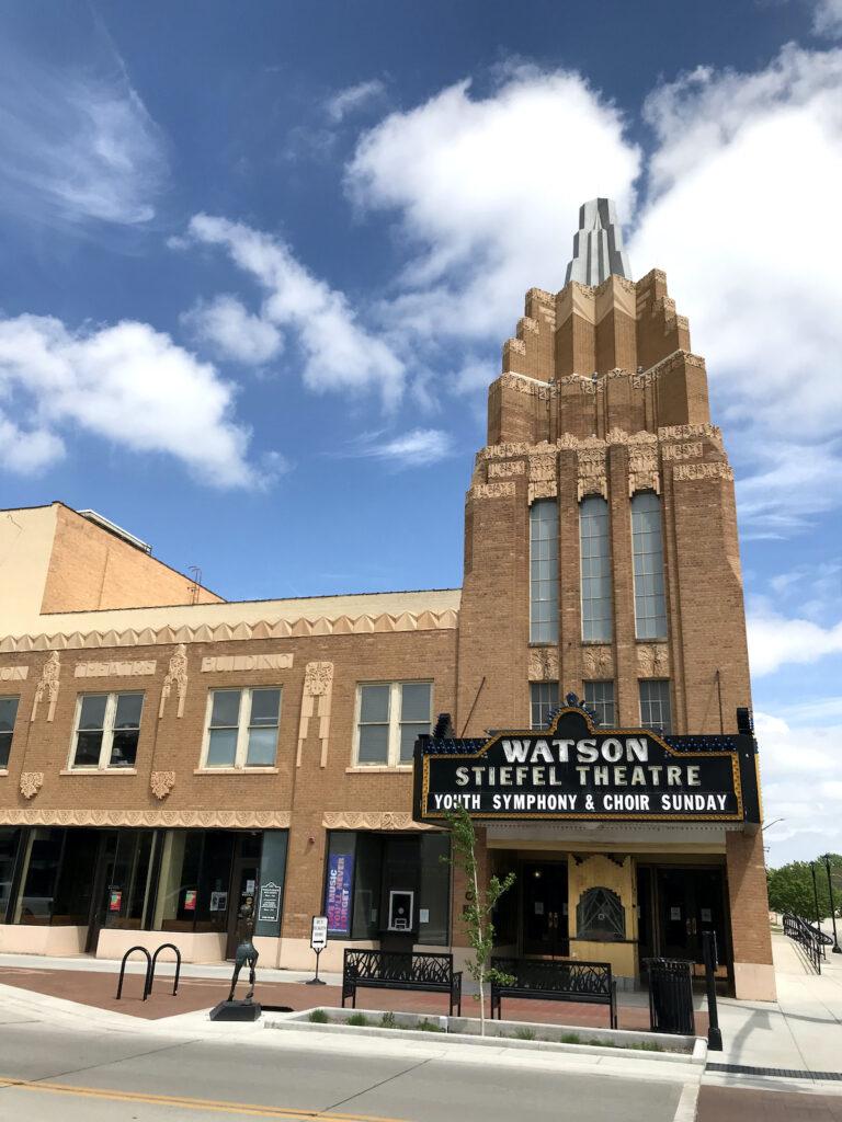 Steifel Theatre for the Performing Arts, Salina, Kansas.