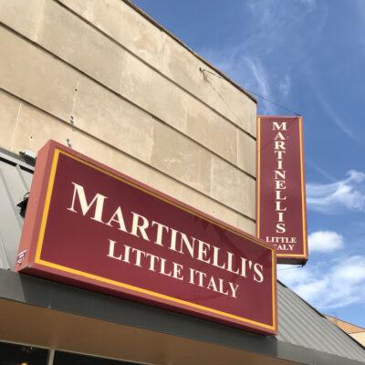 Martinelli's Little Italy in Salina, Kansas.