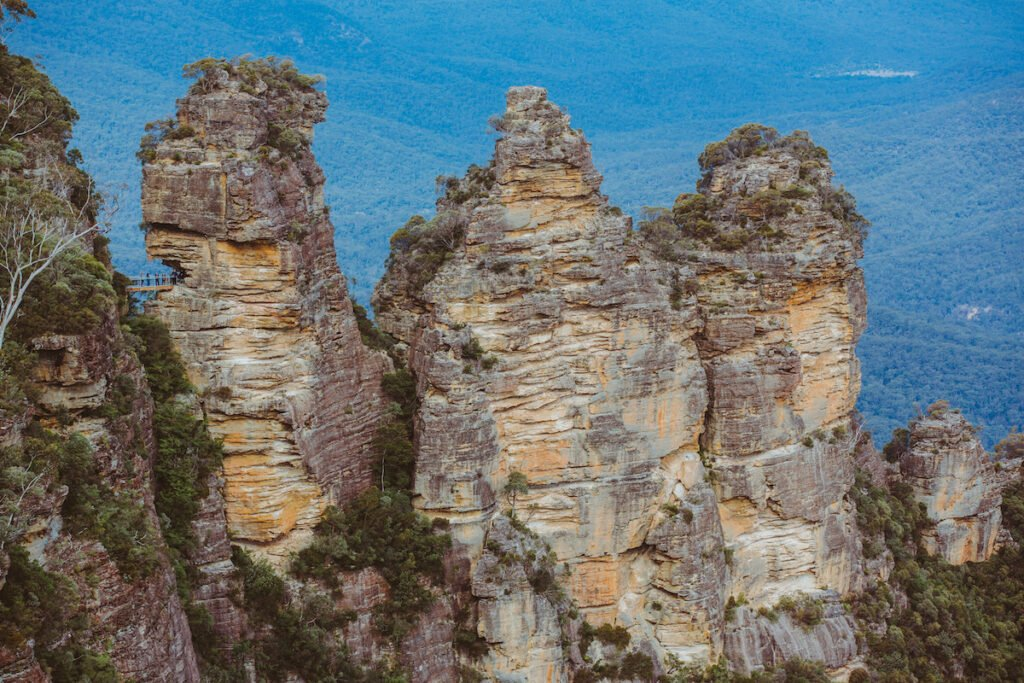 Three Sisters, Blue Mountains, New South Wales, Australia.