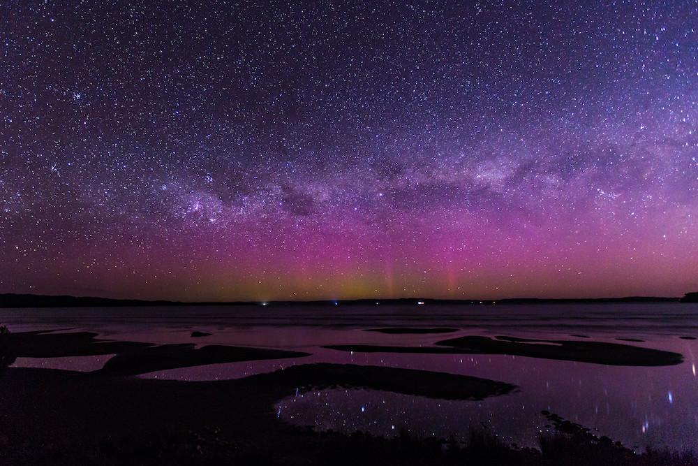 Aurora Australis,  Strahan, Tasmania