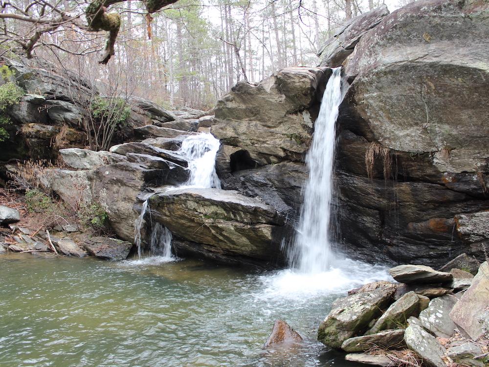 Cheaha Falls on the Skyway Loop, Talladega National Forest