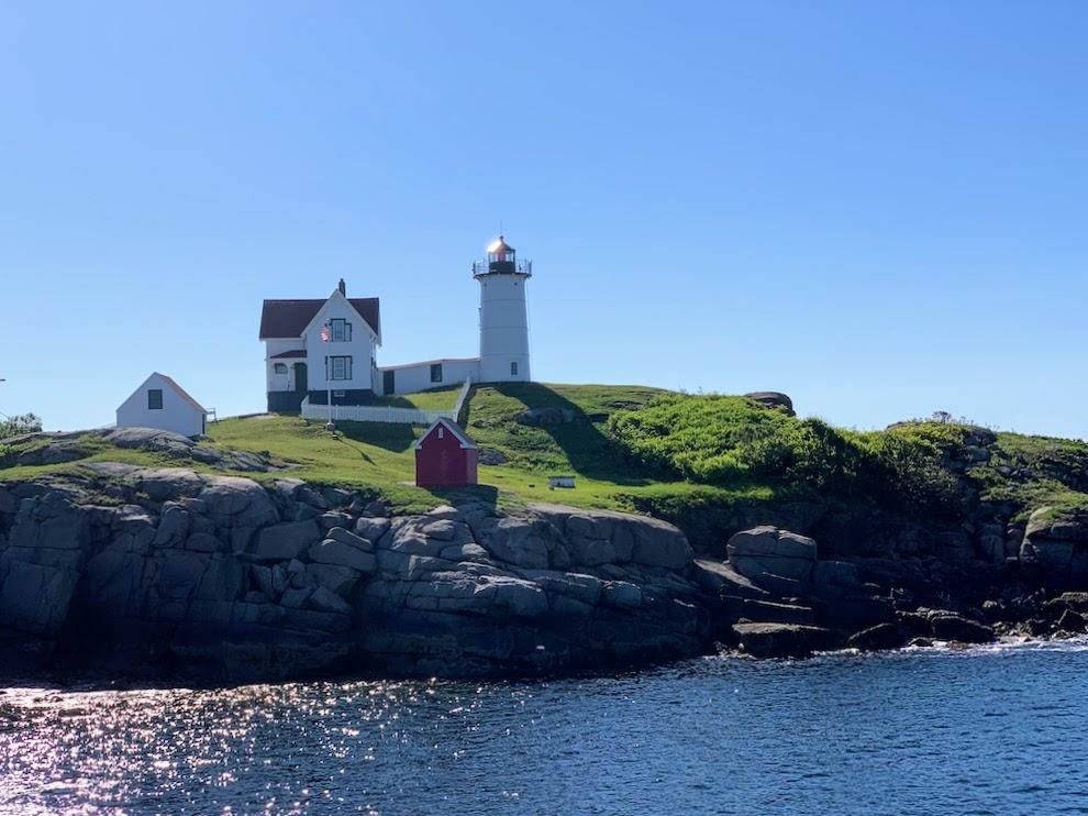 Cape Neddick Lightstation aka Nubble Light in York, Maine