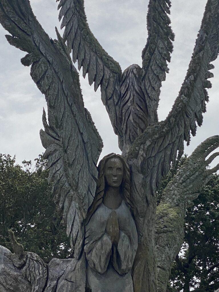 Angel tree in Bay St. Louis.