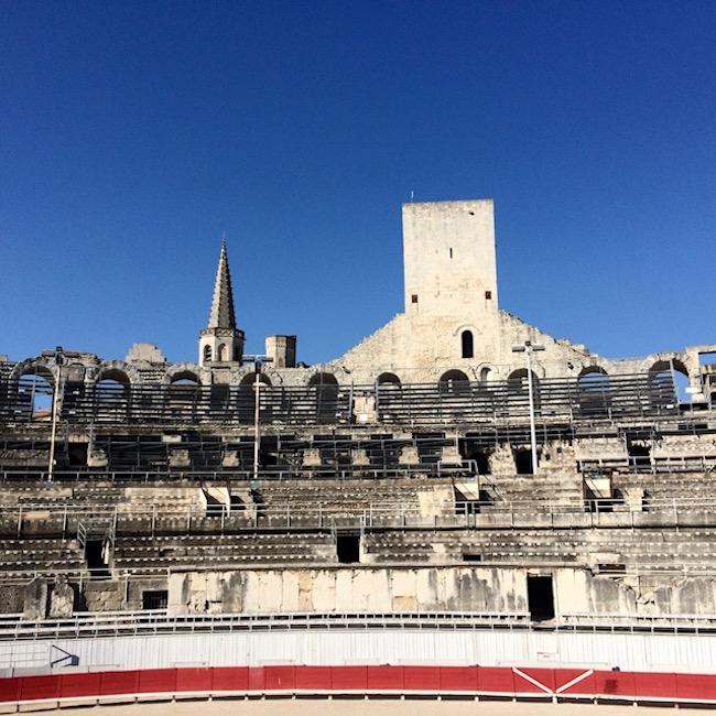 Roman Arena, Arles, Provence, France.