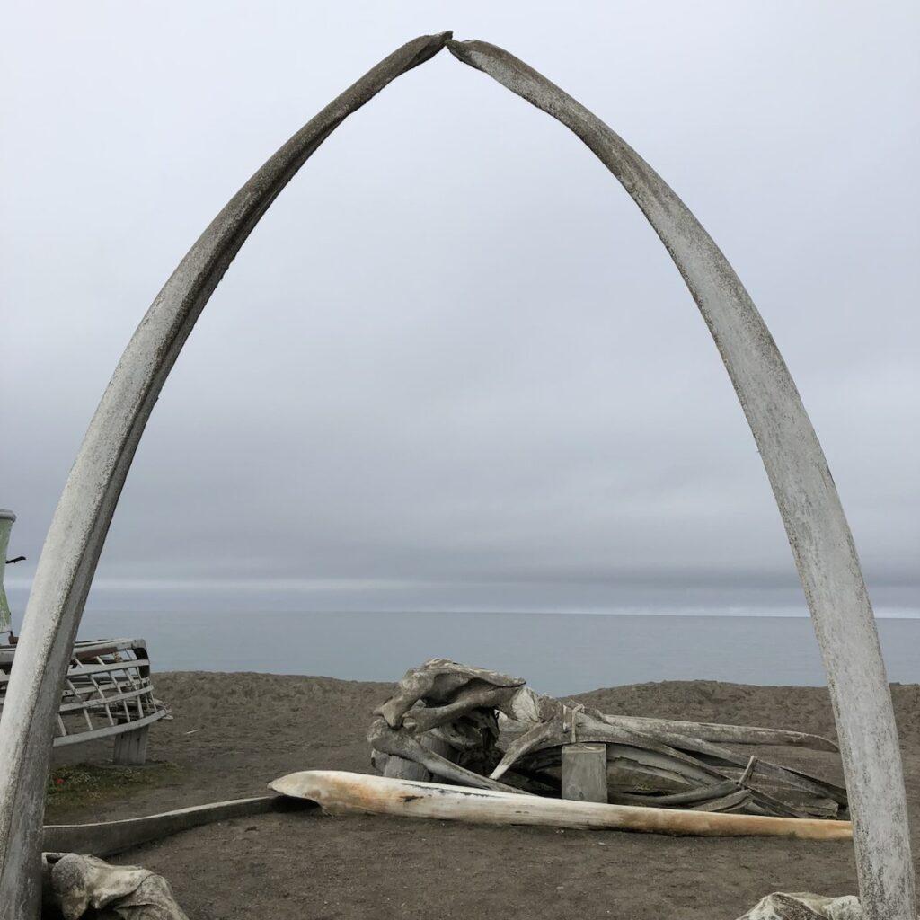 The Bone Arch in Utqiagvik, Alaska.