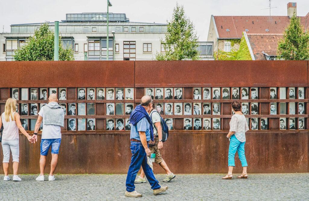 The Berlin Wall Memorial.