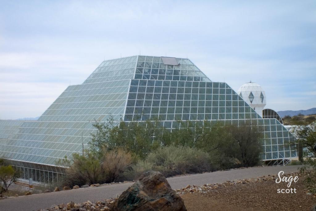 Biosphere 2 in Oracle, AZ.