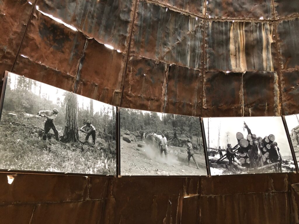 """""""Re-imaging the Delaney Sawmill TeePee Burner."""""""