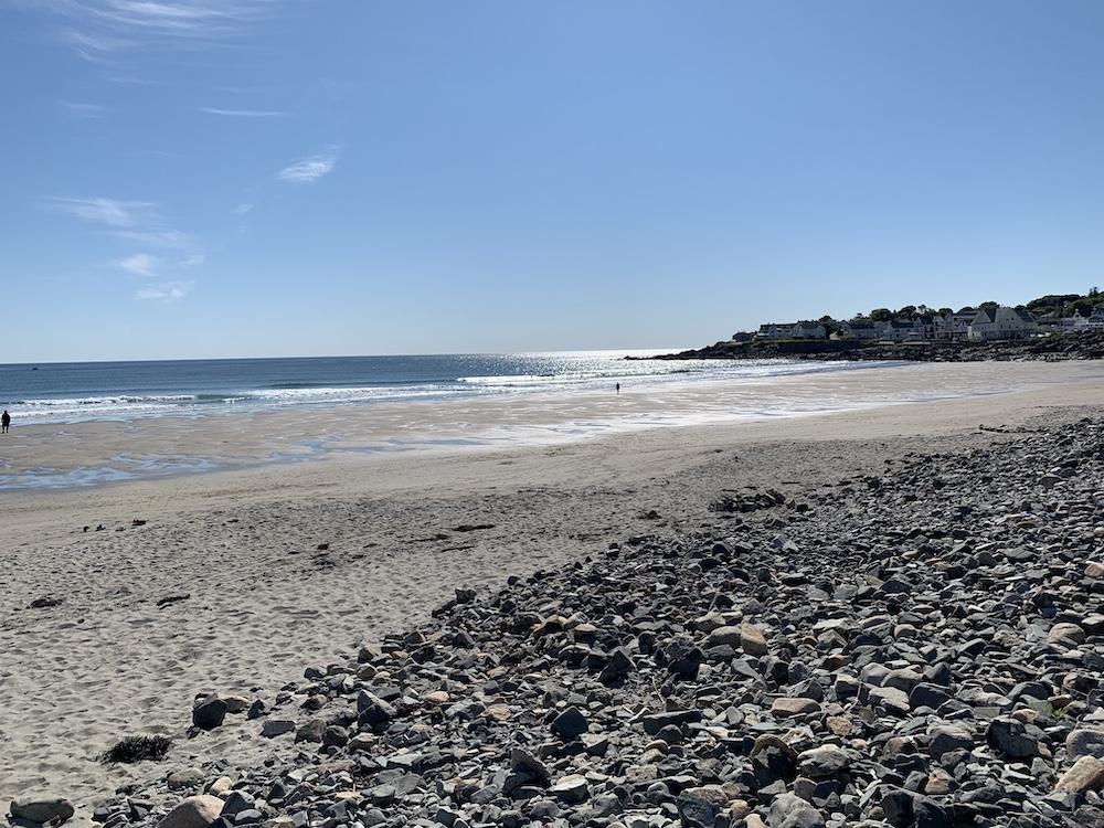 Short Sands Beach in York, Maine.