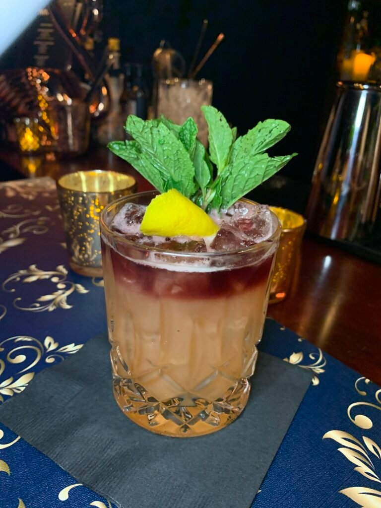 A drink at Room Nine01.