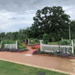 Gardens in College Station, Texas.