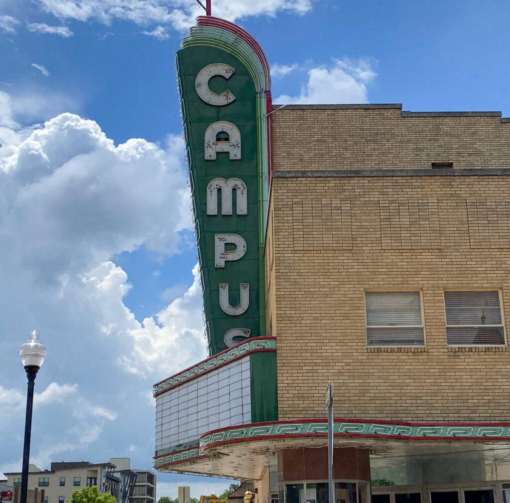 Campus Theatre in Denton.