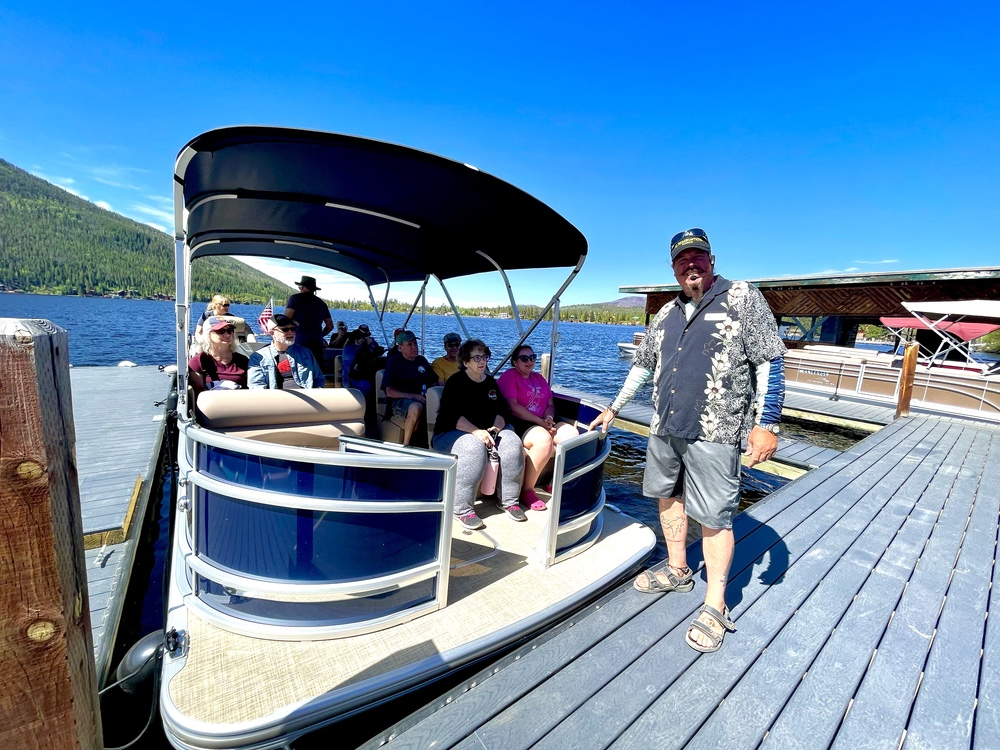 Captain Rick's Tour of Grand Lake From Headwaters Marina Grand Lake, Colorado