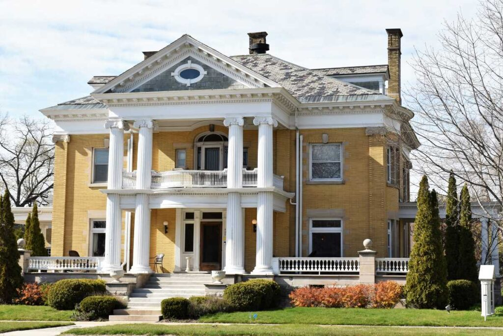 Cartier Mansion Bed And Breakfast, Ludington, Michigan.