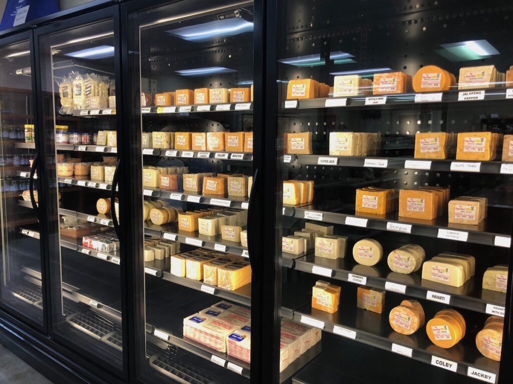 The Cheese Store in Sweet Springs.