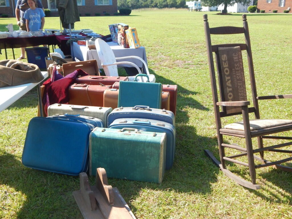 Suitcases for sale.