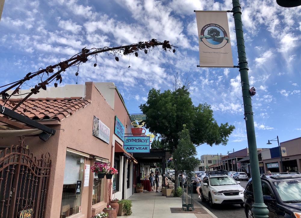 Cottonwood Old Town Arizona