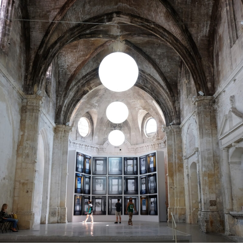 Exhibition of Marie Bovo at photography festival Les Rencontres d'Arles.