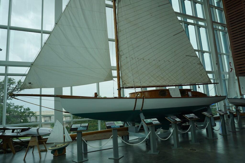 Seafood Museum boat in Biloxi.