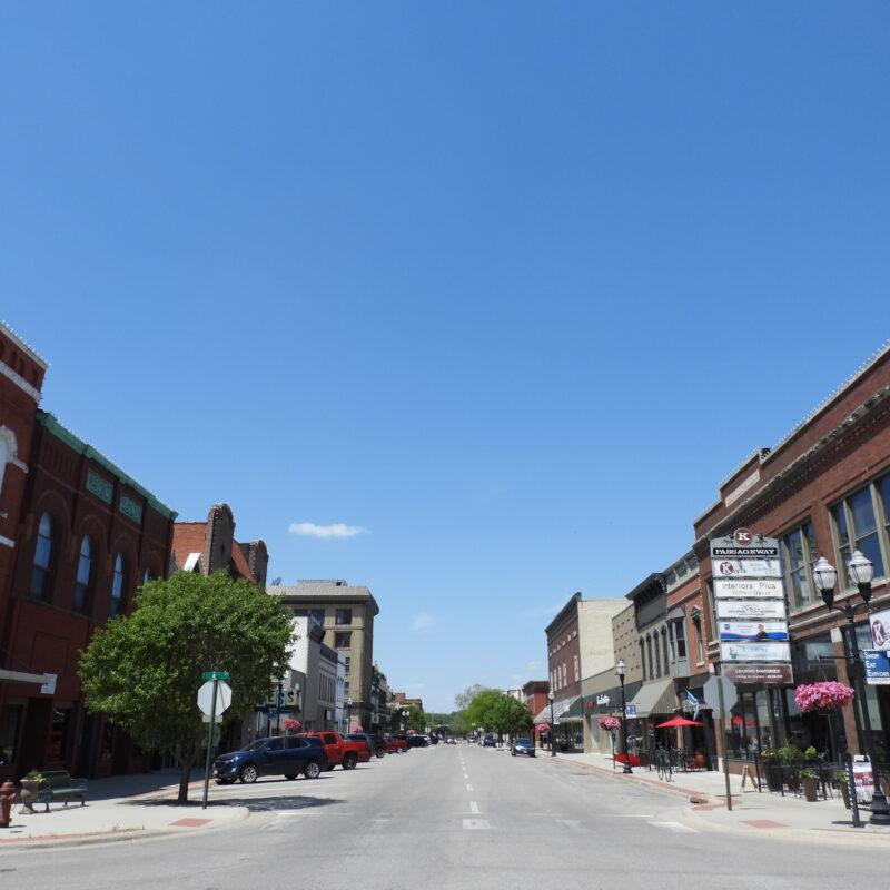 Downtown Fremont, Nebraska