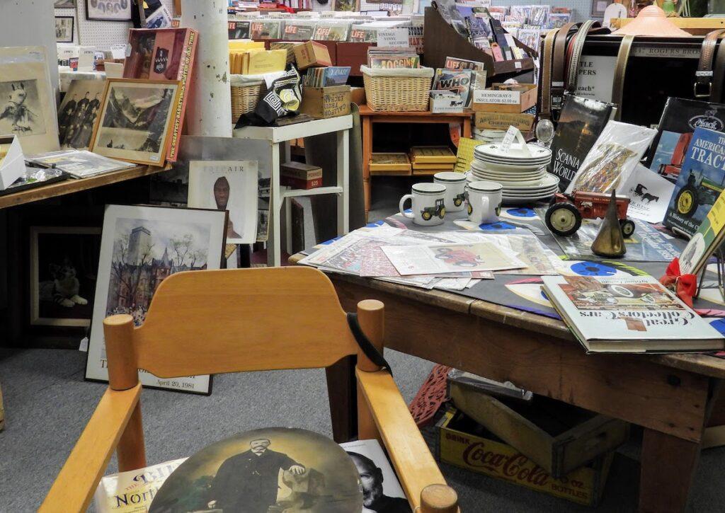 Yankee Peddler West antique store in Fremont, Nebraska