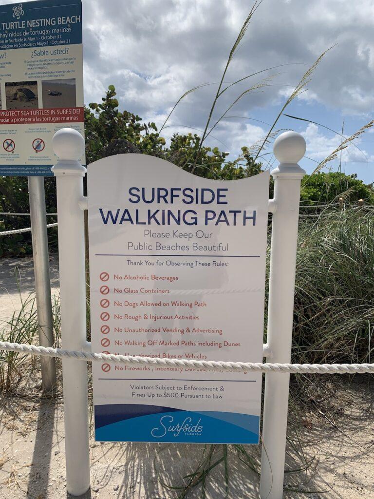 Surfside Walking Path.