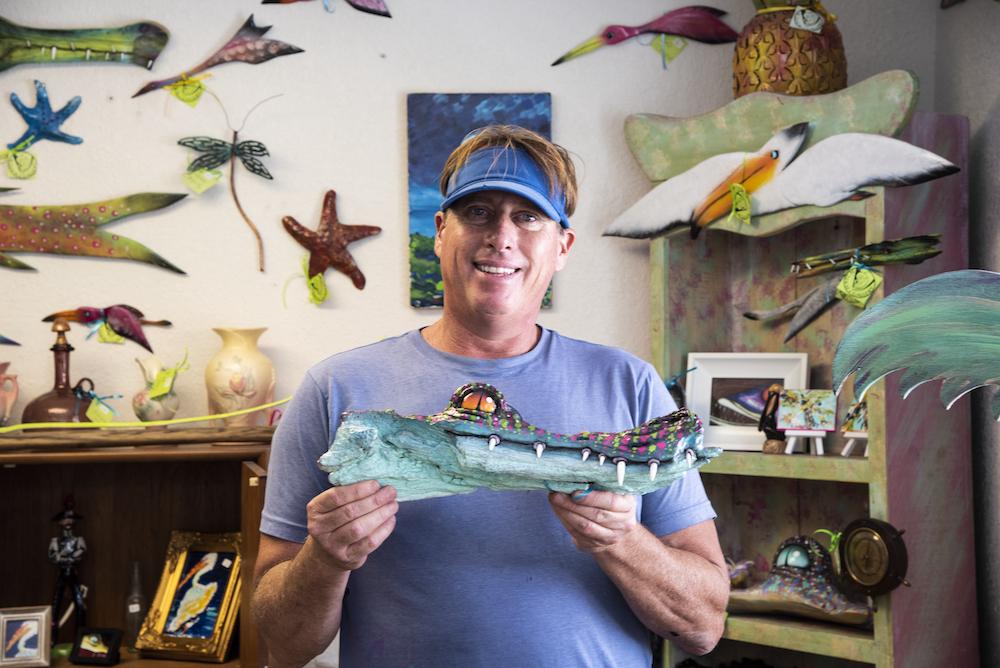 Jon Hatch, owner of Hatch Gallery in El Jobean Florida