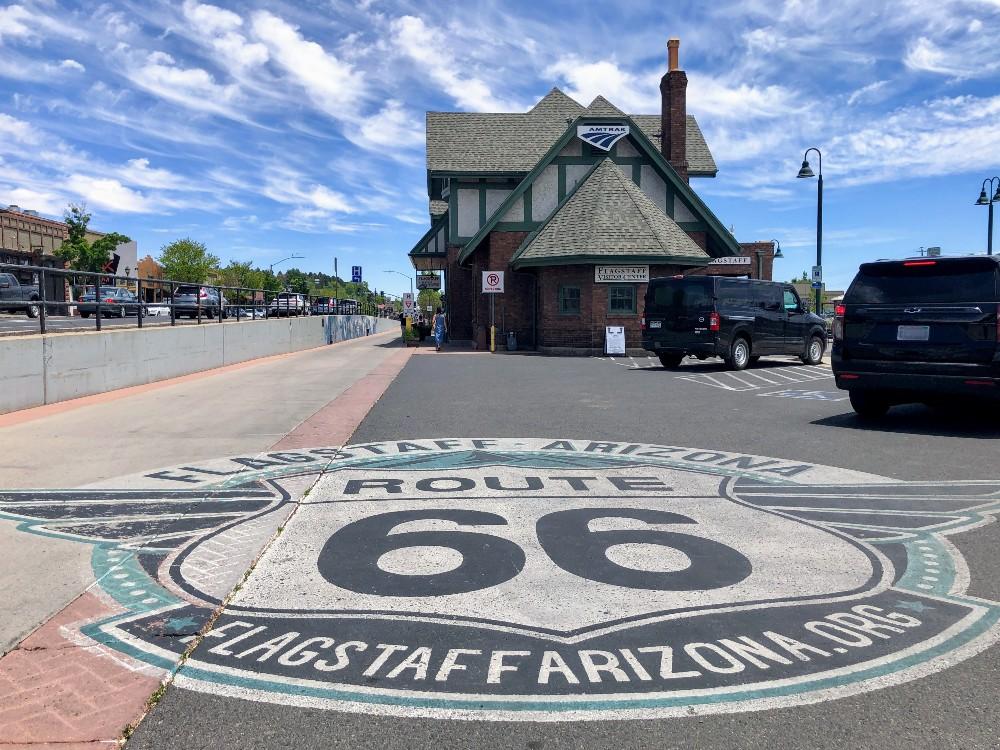 Flagstaff Downtown Train Depot