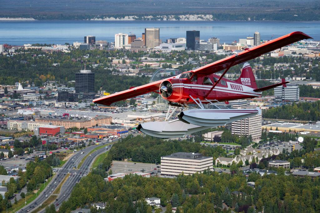 flightseeing in Anchorage, AK