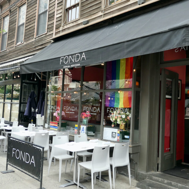 Fonda in NYC.
